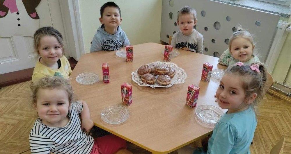 """""""Dzień Pączka"""" w przedszkolu w Stanowicach"""