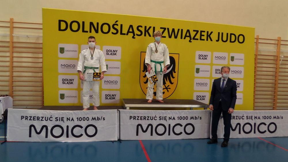Dwa medale judoków TATAMI Strzegom