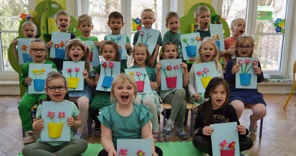 Powitanie Wiosny w Publicznym Przedszkolu nr 3 w Strzegomiu