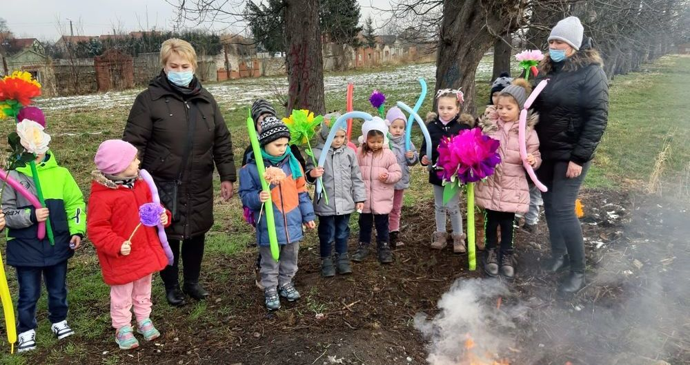 Pożegnanie zimy w przedszkolu PSP Olszany