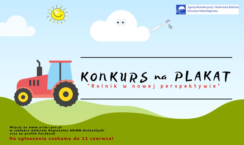 """ARiMR: Konkurs na plakat """"Rolnik w nowej perspektywie"""""""