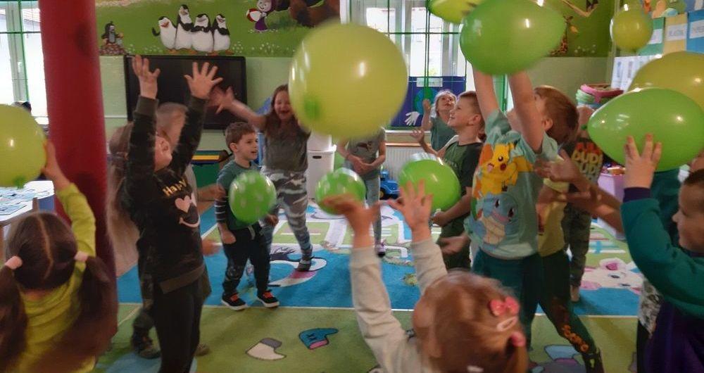 """""""Międzynarodowy Dzień Ziemi"""" w oddziale przedszkolnym w PSP Olszany"""