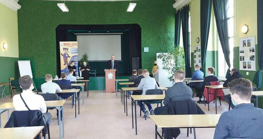 Pożegnanie czwartoklasistów w Zespole Szkół w Strzegomiu