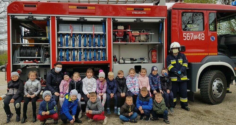 Dzień Strażaka w ZSP w Jaroszowie
