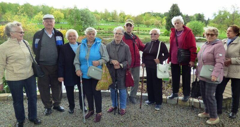 Seniorzy z Jaroszowa zwiedzali Dolny Śląsk