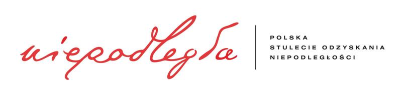 Logo Niepodległa POLSKA STULECIE ODZYSKANIA NIEPODLEGŁOŚCI