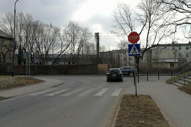Zdjęcie skrzyżowania