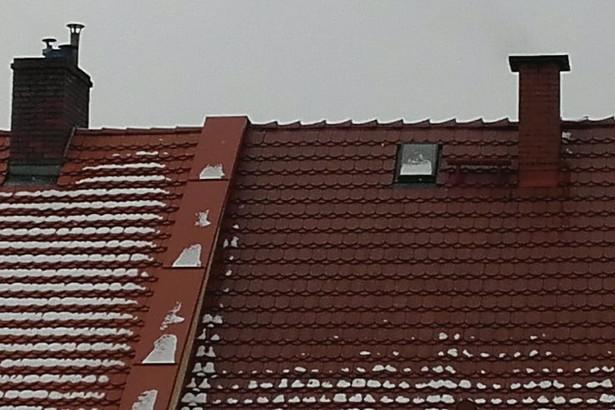 Dach i kominy