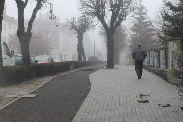 Zdjęcie Ścieżki z mgłą
