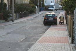 Na Modrzejewskiej nowe chodniki