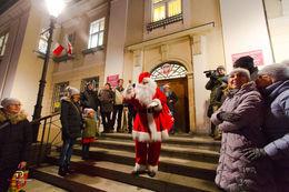 Świebodzice odwiedził Mikołaj