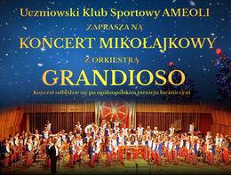 Koncert Mikołajkowy z Orkiestrą Grandioso