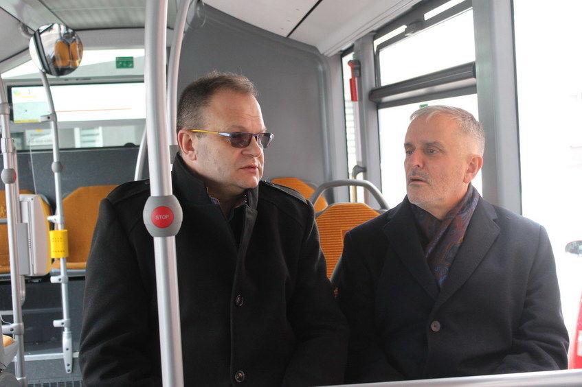 Jazda testowa nowym autobusem