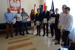 Uroczyste zakończenie roku szkolnego 2018/2019 w LO w Świebodzicach
