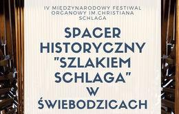 SPACER HISTORYCZNY SZLAKIEM SCHLAGA