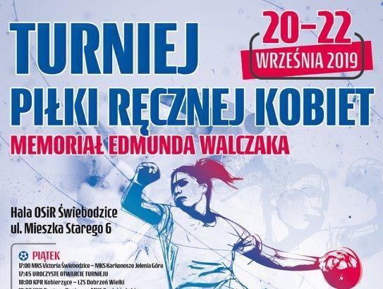Dziś rozpoczyna się Turniej Piłki Ręcznej Kobiet Memoriał im. Edmunda Walczaka