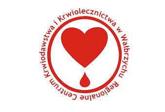 Logo Regionalne Centrum Krwiodawstwa i Krwiolecznictwa w Wałbrzychu