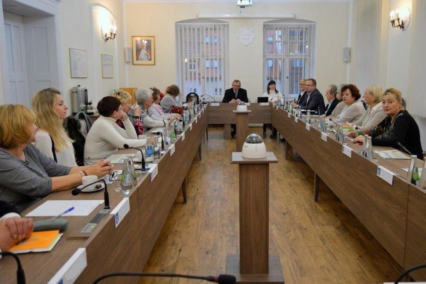 Wybory do prezydium II kadencji Świebodzickiej Rady Seniorów