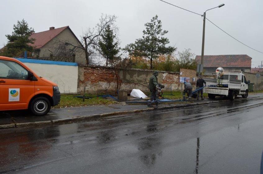 Zdjęcie przedstawia fragment ulicy Jeleniogórskiej