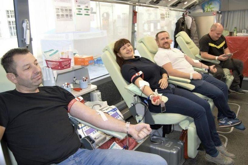 Oddali krew dla Bianki