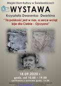 Wystawa Krzysztofa Dworenko - Dworkina w MDK