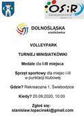 Volley Park - turniej minisiatkówki