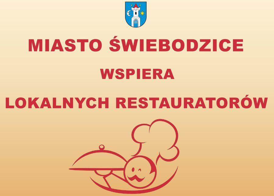 Miasto Świebodzice wspiera Lokalnych Restauratorów