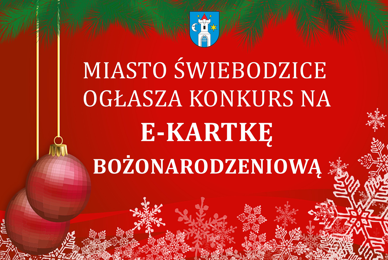 Miasto Świebodzice ogłasza konkurs na e-kartkę bożonarodzeniową