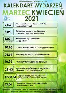 Plakat zielono