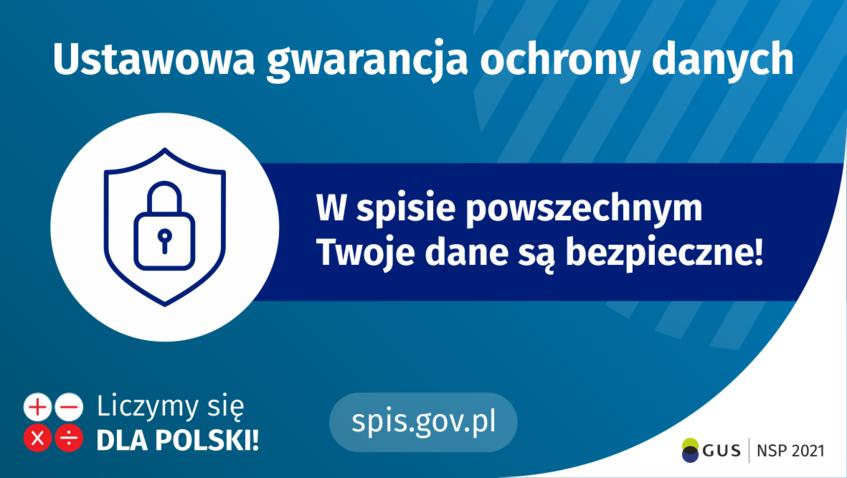 plakat ustawowa gwarancja ochrony danych