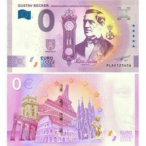 Na zdjęciu widoczny jest banknot 0 euro