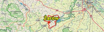 Położenie gminy Żarów