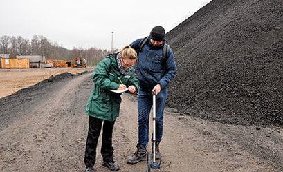 WIOŚ przeprowadza badania na terenie planowanej budowy zakładu
