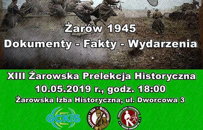 XIII Żarowska Prelekcja Historyczna