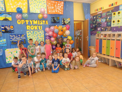Święto Optymizmu w Bajkowym Przedszkolu