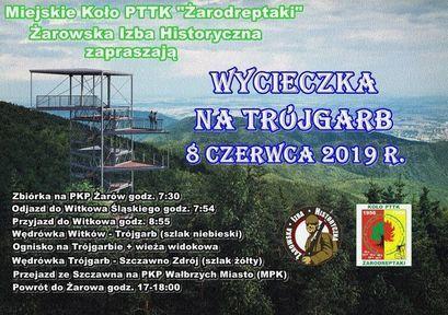 """""""Żarodreptaki"""" oraz Żarowska Izba Historyczna zapraszają na wycieczki"""