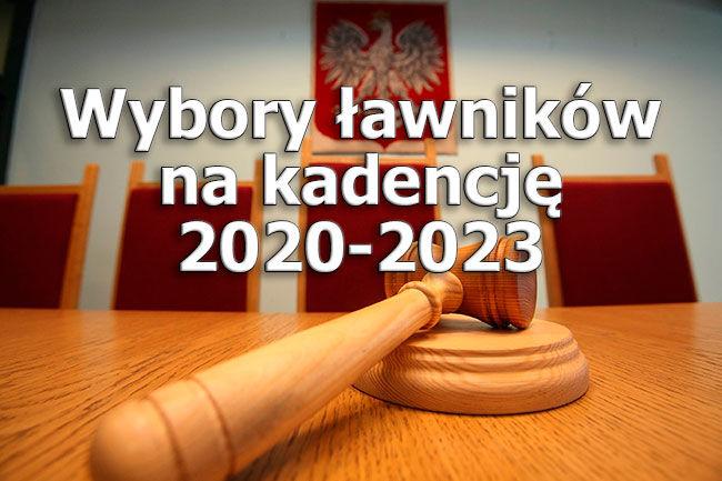 Wybory ławników sądowych na lata 2020-2023