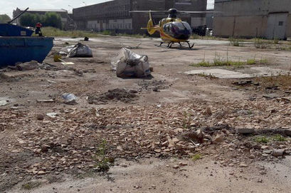 Wypadek na terenie zakładu PCO