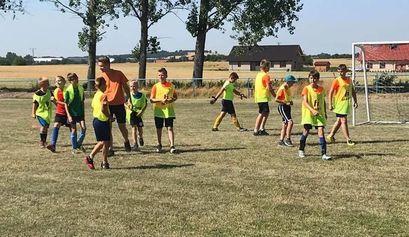 Turniej piłkarski w Kalnie