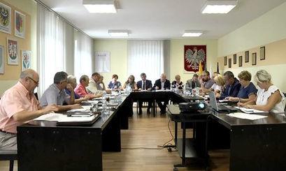 XVI Sesja Rady Miejskiej w Żarowie