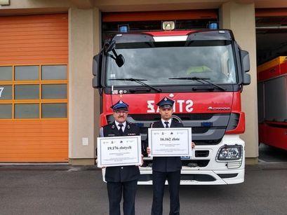 Strażacy otrzymali pieniądze na nowy sprzęt