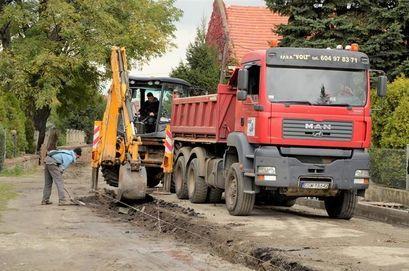 Budowa kanalizacji w Mrowinach i Kalnie