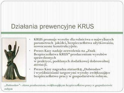 Ekspozycja odzieży roboczej oznaczonej Znakiem Bezpieczeństwa KRUS