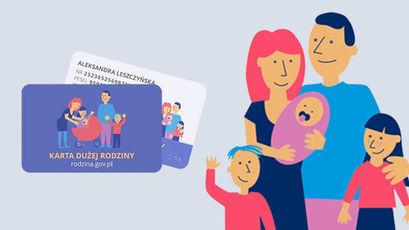 Karta Dużej Rodziny w formie elektronicznej
