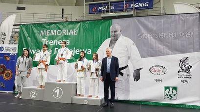 Judocy na silnym międzynarodowym turnieju