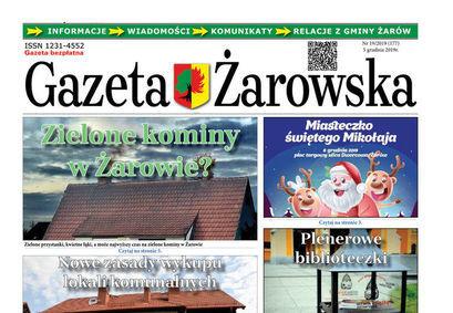 Gazeta Żarowska – nowy numer 19/2019