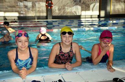 Gminne  zawody pływackie