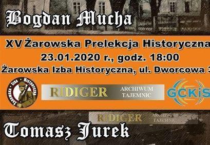 XV Żarowska Prelekcja Historyczna