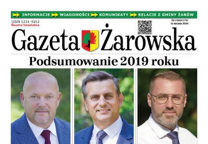 Nowy Numer Gazety Żarowskiej 1/2020