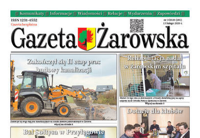 Nowy numer gazety 3/2020